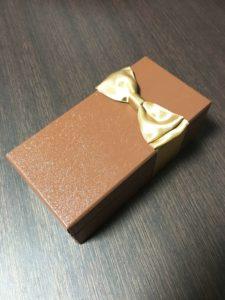 ガトーショコラの高級な箱