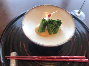 茎ブロッコリーの味噌和え
