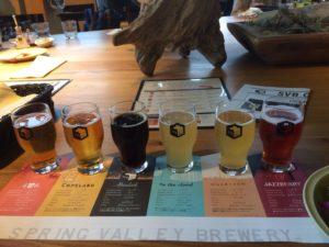 6種のビール飲み比べ