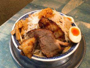 特製角ふじラーメン(醤油味)