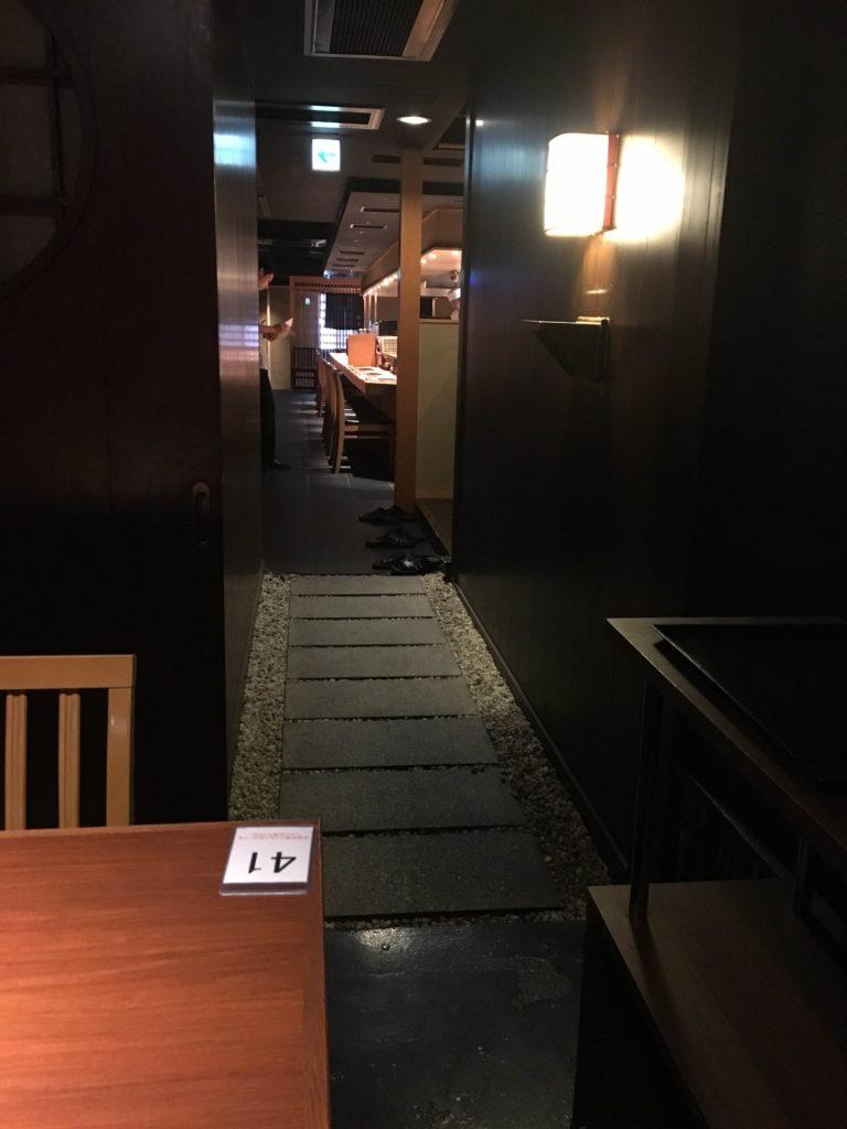 金舌(KINTAN)の個室