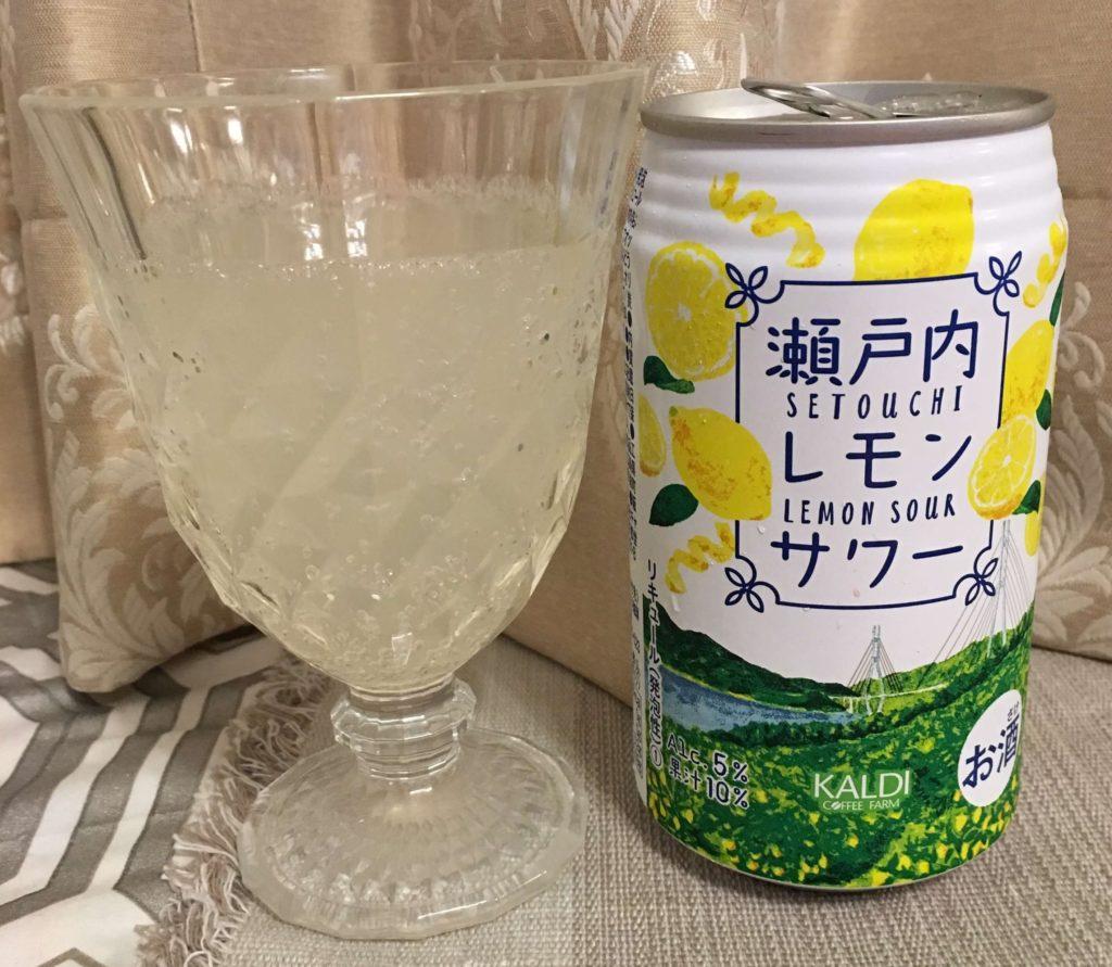 【カルディ】瀬戸内レモンサワー