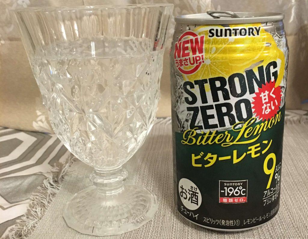 【サントリー】ストロングゼロ ビターレモン