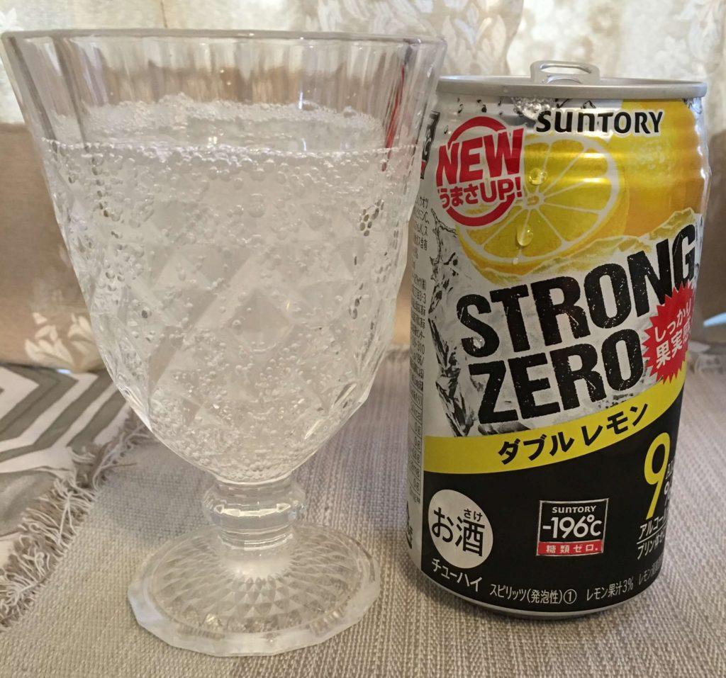 【サントリー】ストロングゼロ ダブルレモン