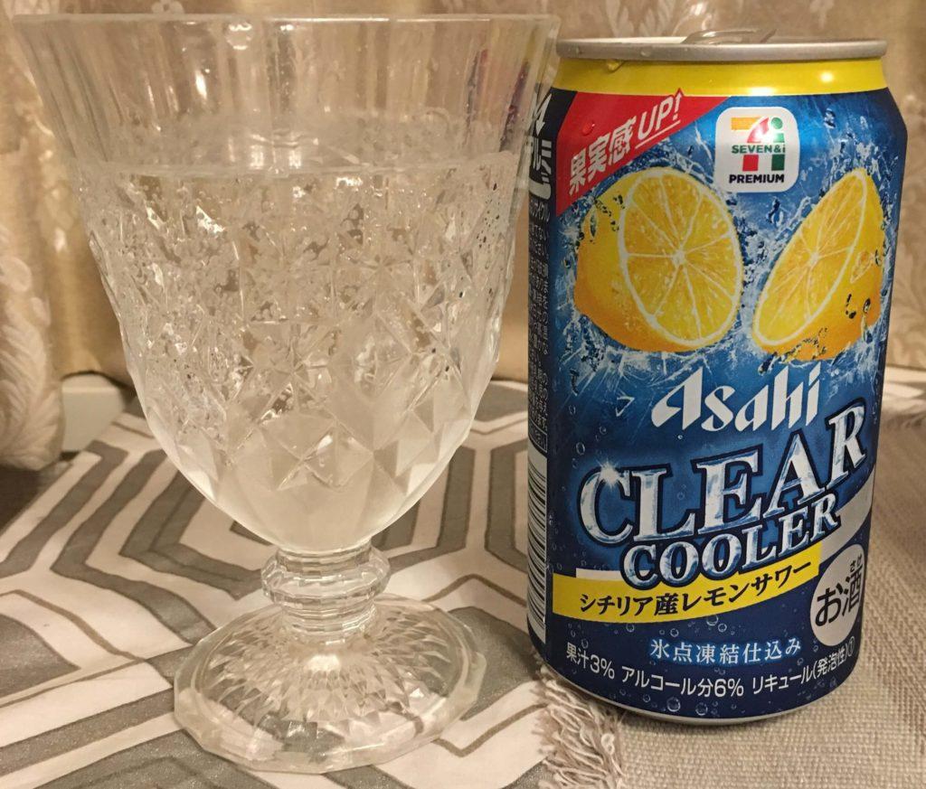【アサヒ】クリアクーラーシチリア産レモンサワー